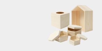Holzboxen & Schatullen